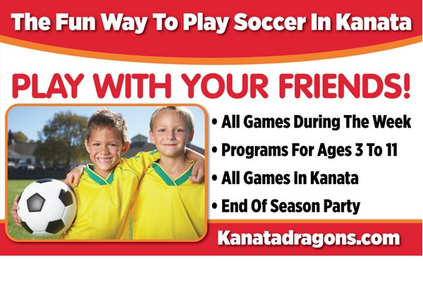 Sign up now for summer soccer and play with your friends